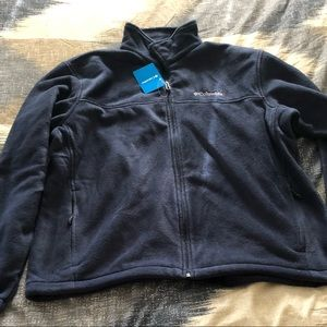 Columbia full zip fleece jacket